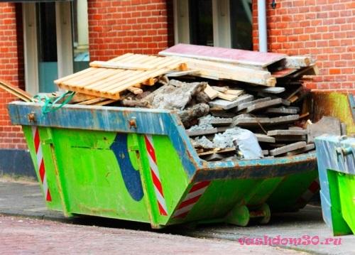 Вывоз мусора контейнер заофото298