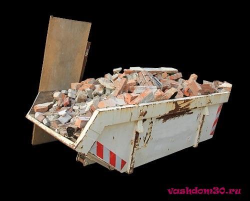 Вывоз строительного мусора контейнер 8 м3 королевфото1731