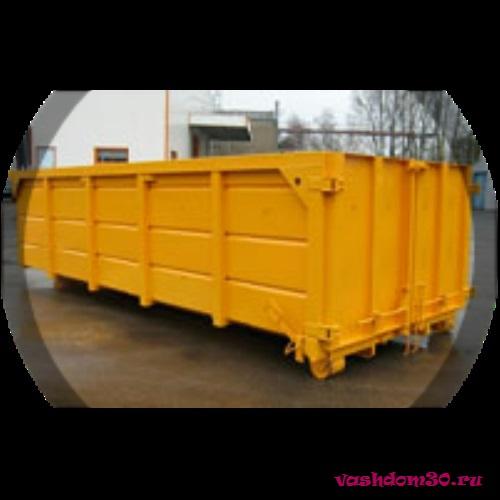 Вывоз мусора контейнер 20 м3 химкифото1037