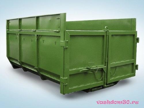 Мусорный контейнер серпуховфото62
