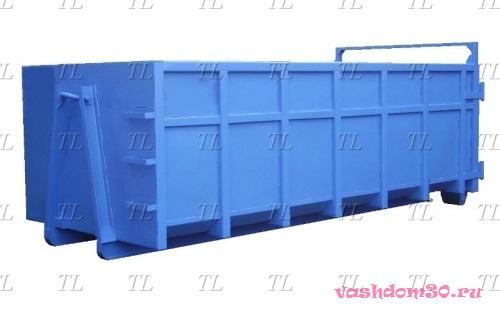 Вывоз мусора контейнером с погрузкойфото765