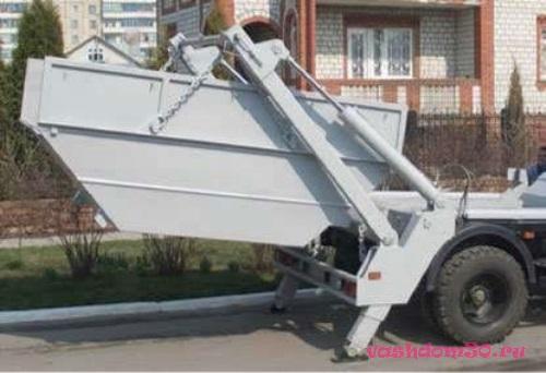 Вывоз мусора контейнер климовскфото1537