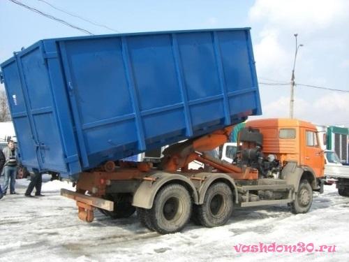 Вывоз строительного мусора наро-фоминскфото1695