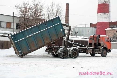 Вывоз мусора контейнер железнодорожныйфото396