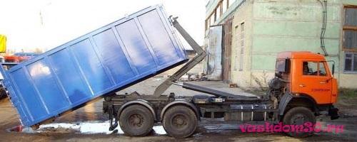 Солнечногорск вывоз мусора контейнерфото1086