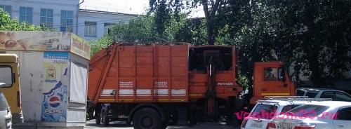 Вывоз мусора в малаховкефото348
