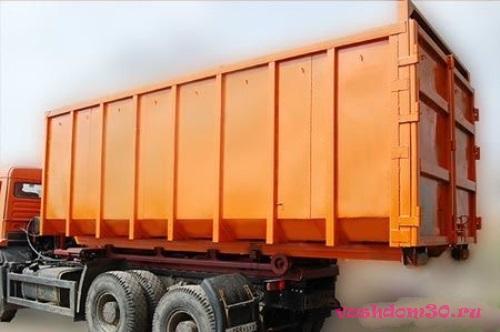 Вывоз строительного мусора контейнером 8 м3 в заофото1979