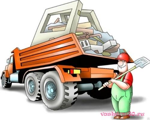 Уборка и вывоз мусора в заофото855
