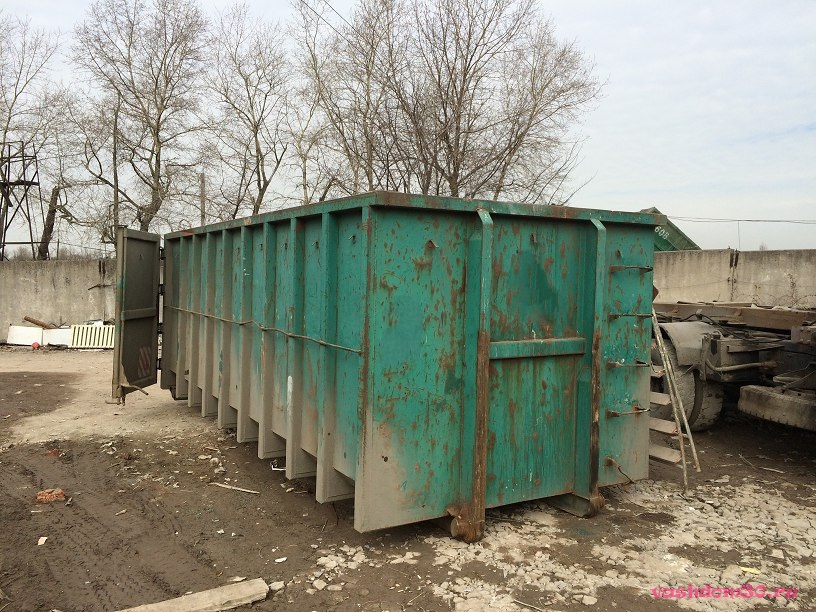 Контейнер 27 куб для мусорафото1574