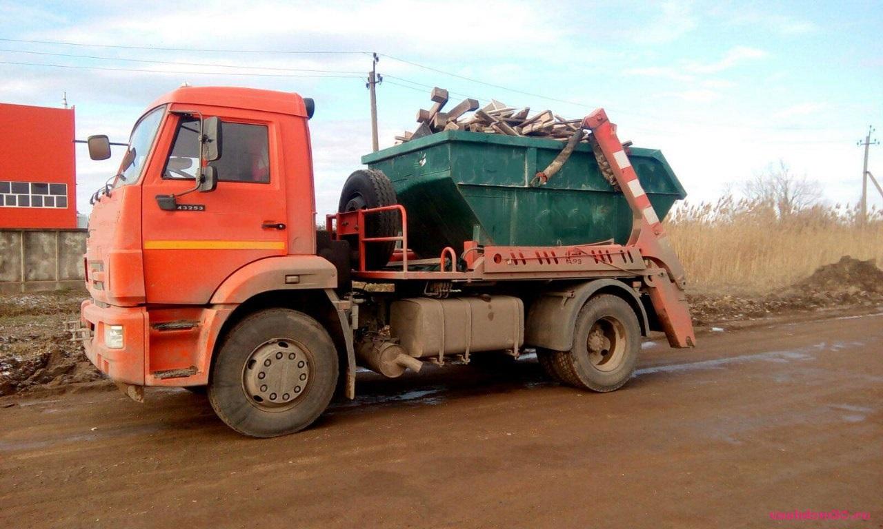 Вывоз мусора контейнер 20 м3 железнодорожныйфото1467