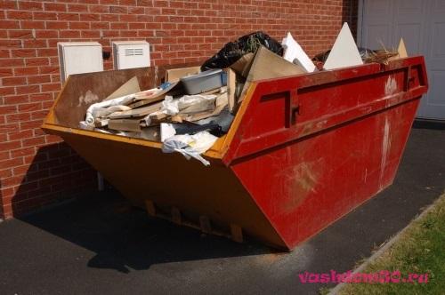 Вывоз мусора от станции метро бауманская в москвефото1329