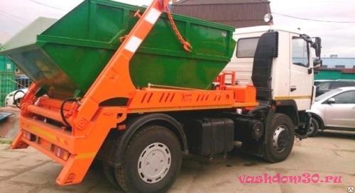 Заказать контейнер для вывоза мусора в мытищахфото138