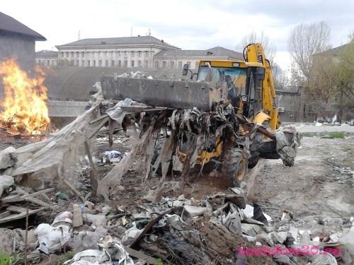 Контейнер для строительного мусора железнодорожныйфото119
