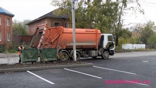 Вывоз мусора контейнер 8 м3 красногорский районфото302