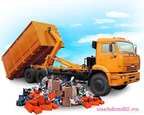 Вывоз мусора в аничковофото1078