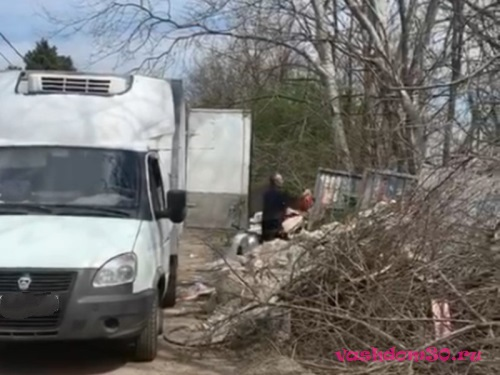 Вывоз мусора орехово борисово северноефото243