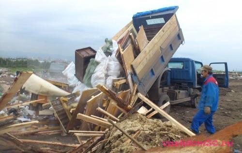 Вывоз строительного мусора в звенигородефото710