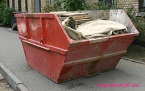 Вывоз мусора строительного химкифото1265