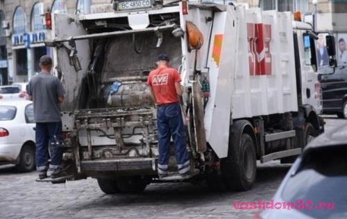 Вывоз мусора контейнер 8 м3 химкифото1740