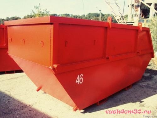 Заказать контейнер под строительный мусор ценафото1787