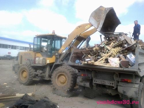 Нахабино вывоз мусорафото1413