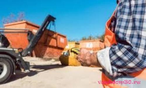 Вывоз строительного мусора контейнер 8 м3 пушкинофото914