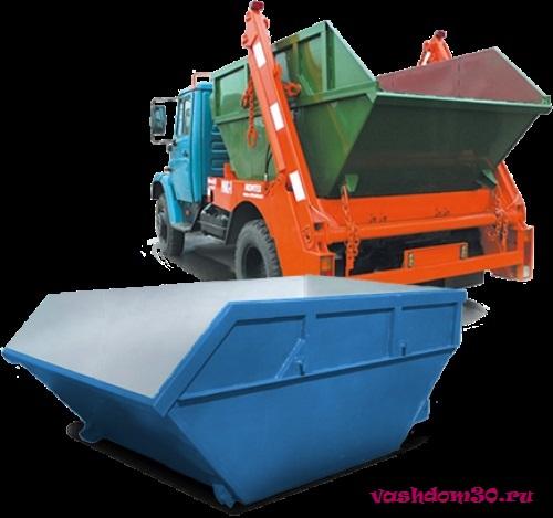 Вывоз мусора щелково дешевофото493