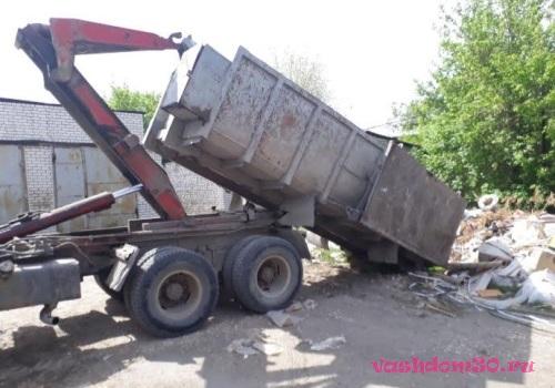 Вывоз мусора можайское шоссефото1793