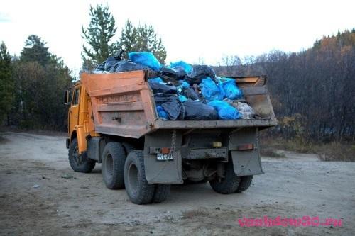Вывоз строительного мусора пушкинфото379