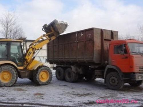 Вывоз мусора видное контейнерфото926