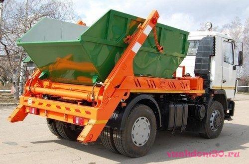 Заказать контейнер для мусорафото615
