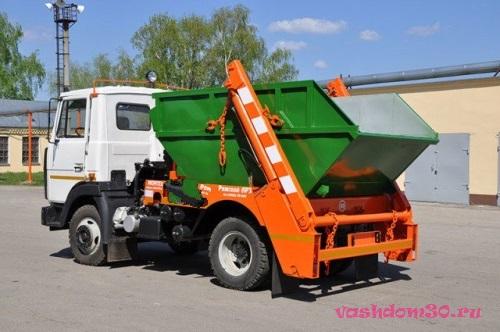Вывоз мусора зао контейнеромфото268