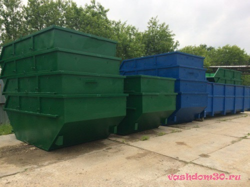 Вывоз мусора контейнер 8 м3 дмитровфото1467