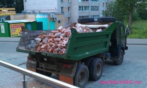 Вывоз мусора контейнер подольскфото601