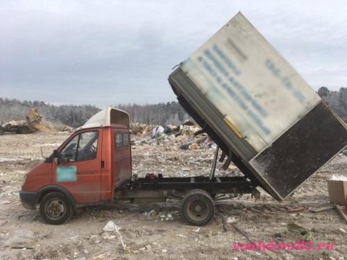Вывоз мусора контейнер жуковскийфото1851