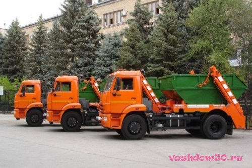 Пушкино контейнер для мусорафото271
