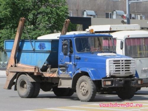Вывоз мусора контейнер 8 м3 московская область троицкфото1474