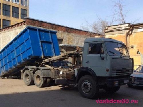 Вывоз строительного мусора мультилифтфото1190