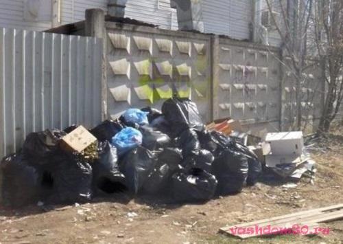 Вывоз мусора после пожарафото1939