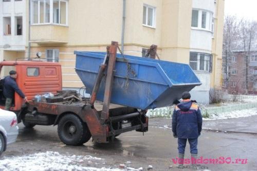 Вывоз мусора монтажная улицафото1825