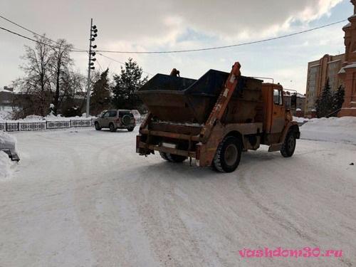 Вывоз мусора контейнер 8 м3 московская область пушкинофото1290