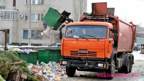 Контейнер вывоз мусора саофото569