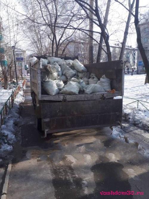 Вывоз строительного мусора контейнер 8 м3 апрелевкафото1079