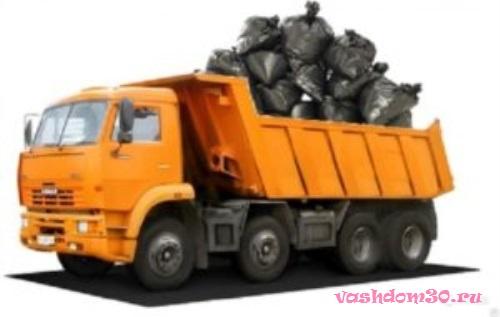 Вывоз мусора контейнер голицынофото1829