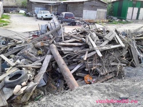 Вывоз строительных отходовфото1436