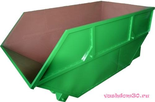 Вывоз мусора железнодорожный контейнерфото760