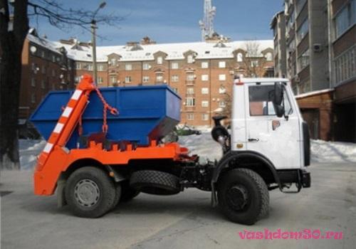 Контейнер для мусора 8 куб бронницыфото1223