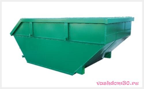 Вывоз мусора контейнер 20 м3 юаофото1319