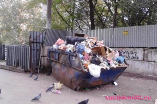 Люберцы вывоз мусора контейнер 8 м3фото224